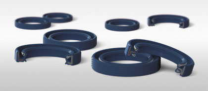 Joints pour mouvements linéaires - Oil seals for linear motion - 420 x185